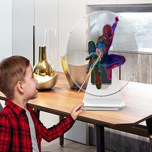 3D hologram led fan