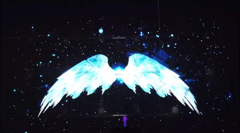 3D Hologram Video Wall